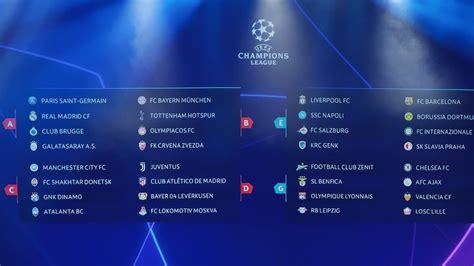 ¡Sorteada la fase de grupos de la Champions League! | UEFA ...