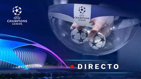 Sorteo Champions League 2018, en directo: Fase de grupos