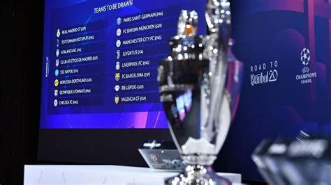 Sorteo de los octavos de final de la Champions League 2019 ...