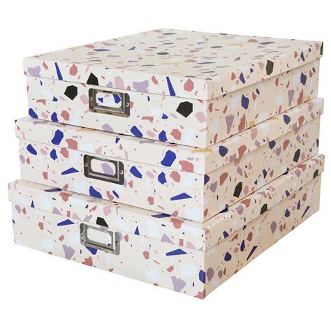 Soul & Lane Decorative Storage Cardboard Boxes with Lids ...