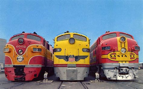 Southern Pacific s #6002, Union Pacific s #104 and ...