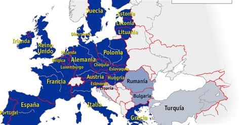 souzalinguística: Mapa de la Unión Europea