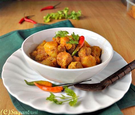 Soy Chunks Curry   A Homemaker s Diary