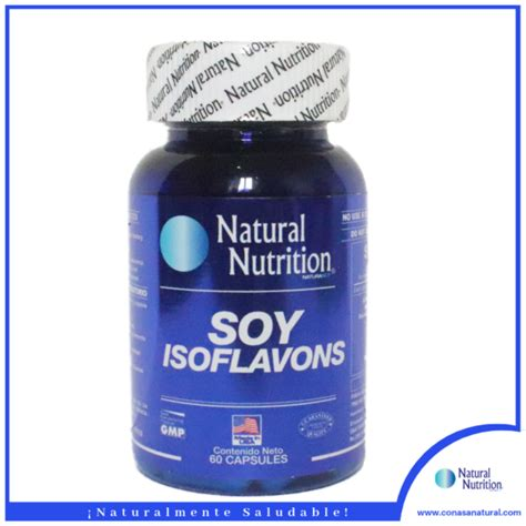 SOY ISOFLAVONS – Conasa Natural Nutrition