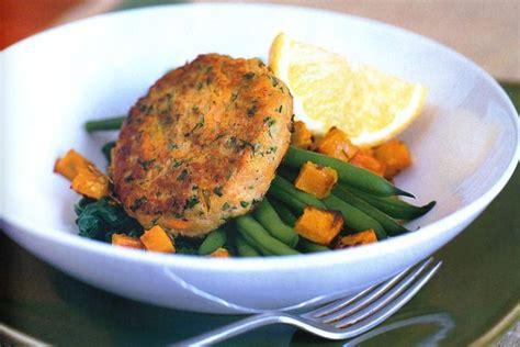 Soy & vegetable patties with roast pumpkin salsa