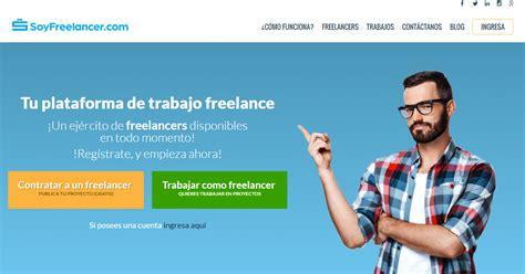SoyFreelancer.com, una plataforma de trabajo freelance en ...