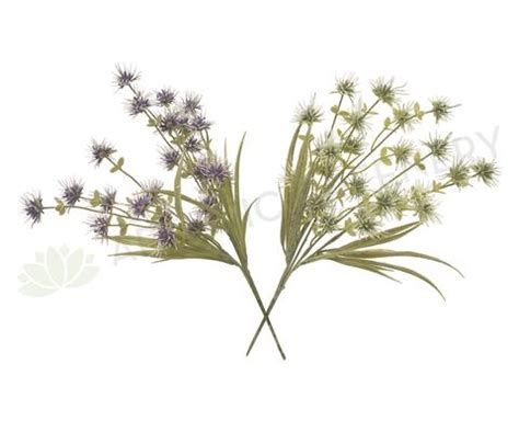 SP0210 Wild Oat Flowers 43cm Purple / White Affordable ...