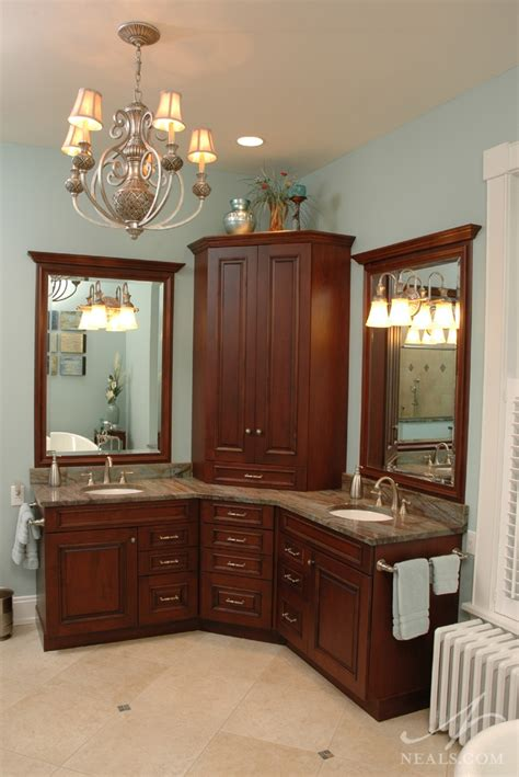 Space Efficient Corner Bathroom Cabinet for Your Small ...