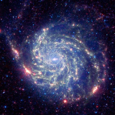 Space Images   Spitzer Space Telescope s View of Galaxy ...