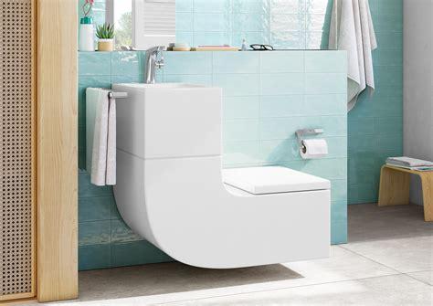 Space Saving Sink and Toilet Combo | Designs & Ideas on Dornob