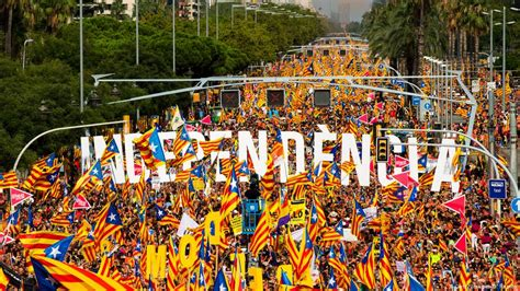 Spain: 1 million people march in Barcelona for ...