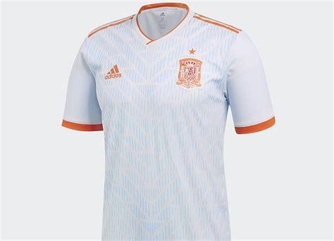 Spain 2018 World Cup Adidas Away Kit | 17/18 Kits ...