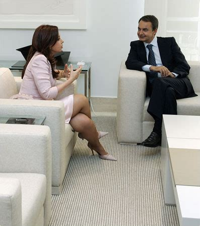 SPAIN Cristina Fernández de Kirchner, a senator and ...