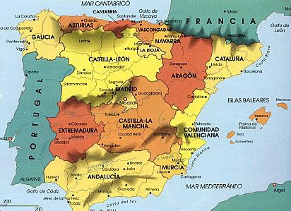 Spain: Physical geography of spain