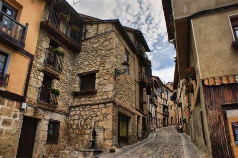 Spain Buenos días desde #Frías, un impresionante pueblo ...