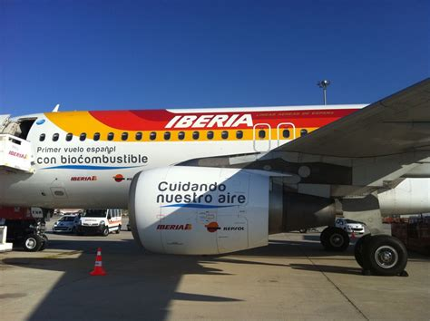 Spain's First Commercial Flight Using Biofuel Staged by ...