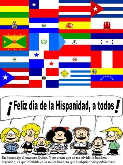 Spanish 102: Feliz dia de la Hispanidad a todos!