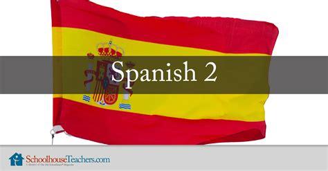 Spanish 2 Homeschool Spanish Online Course ...