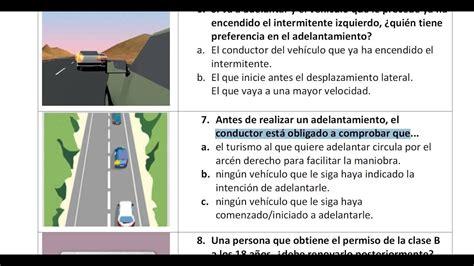 Spanish driving test in Urdu.carnet de conducir permiso b ...