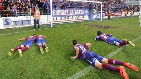 Spanish giant killers Eibar punch their way into European ...