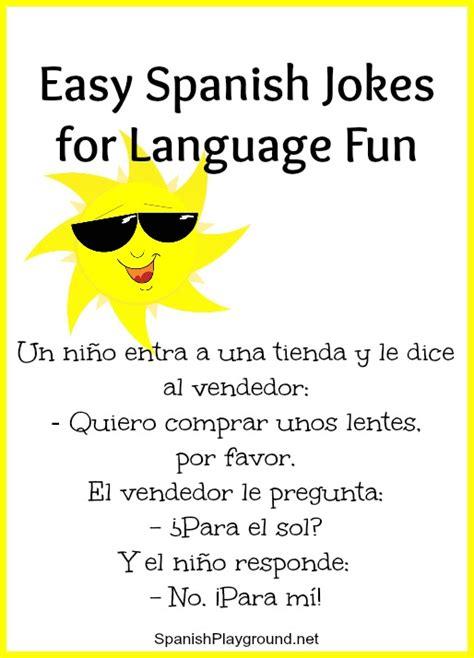 Spanish Jokes for Children: Easy Language Fun   Spanish ...