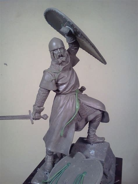 SPANISH KNIGHT Sculpted by Antonio Zapatero, Painted by ...