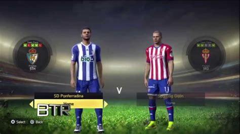 Spanish La Liga Segunda Division Ratings & Kits FIFA 15 ...