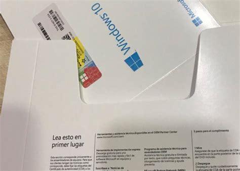 Spanish Language Windows 10 Pro Oem Key Retail Activation ...