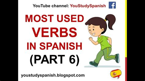 Spanish Lesson 36   100 Most common VERBS in Spanish PART ...