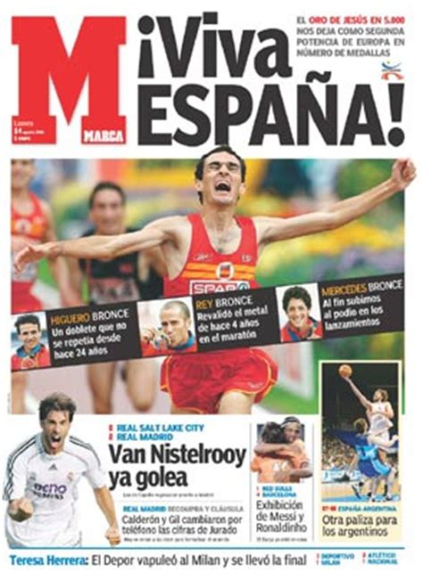 Spanish sport newspapers