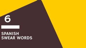 Spanish swear words | Spanish Connection
