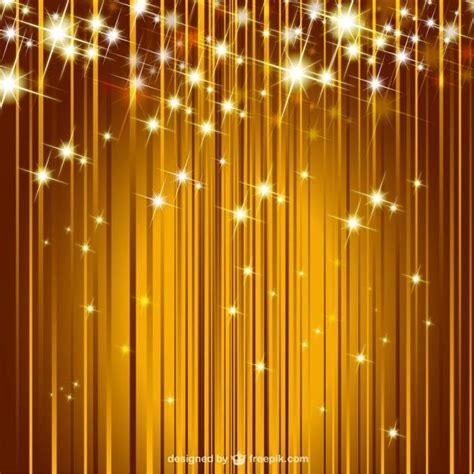 Sparkle Golden Background Free Vector | Vintage floral ...