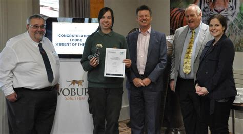 Sparsholt College announce best student zoo keeper ...