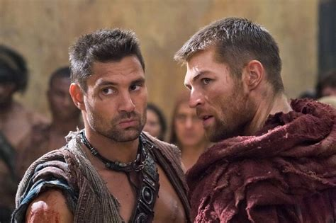 Spartacus  starts up again with a new lead actor ...