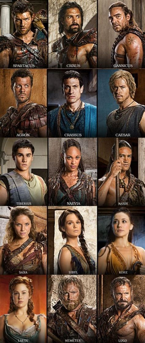 Spartacus War of the Damned #tvseries #tv #series #actress ...