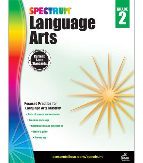 Spectrum Language Arts Workbook Grade 2 | Carson Dellosa ...