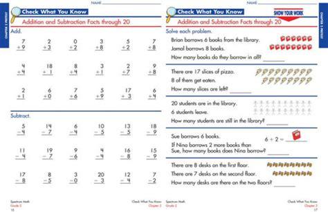 Spectrum Math Workbook, Grade 2 by Spectrum, Paperback ...