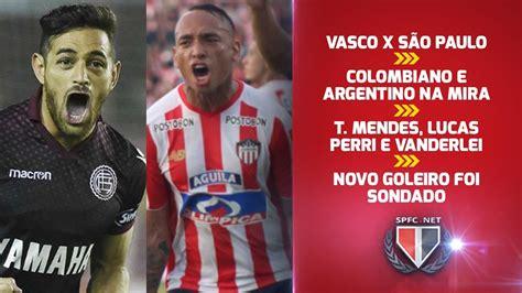 SPFC ULTIMAS NOTICIAS: COLOMBIANO E ARGENTINO CAMISA 10 ...