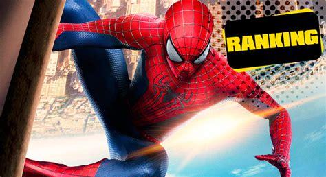 Spider man sus películas de la PEOR a la MEJOR | Cine PREMIERE