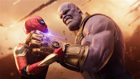 Spiderman Thanos Avengers Infinity War, HD Superheroes, 4k ...