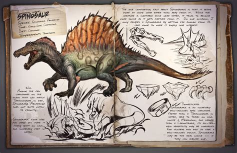 Spinosaurus | ARK: Survival Evolved Wiki | FANDOM powered ...