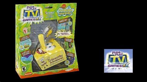 Spongebob Squarepants  Plug & Play TV Game  5 Seaworthy ...