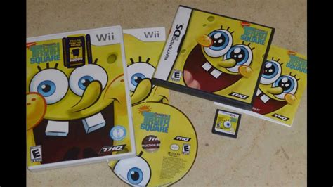 SpongeBob Video Game Collection 2001   2011   YouTube