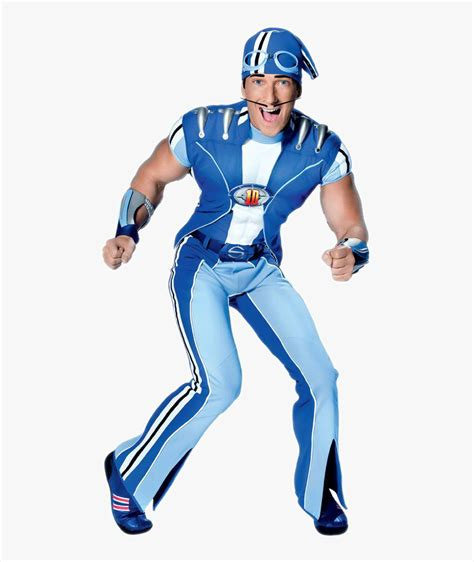 Sportacus Lazy Town Characters, HD Png Download ...