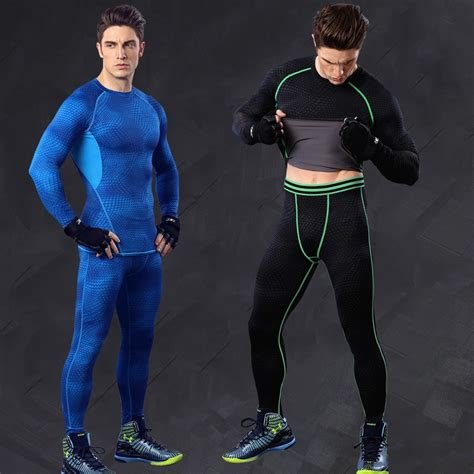 Sporthosen Mens Workout Compression Tights Running ...
