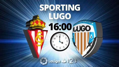Sporting   Lugo: LaLiga 123 de fútbol, hoy en directo online