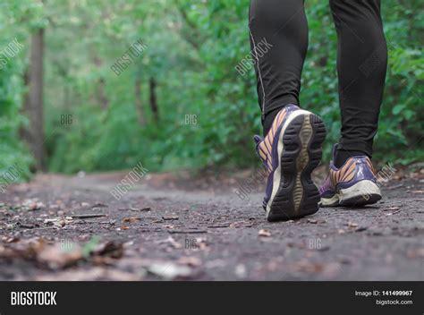 Sports Shoes Walking Jogging On Image & Photo   Bigstock