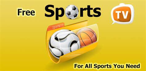 Sports TV gratuit Pour Android   Apk Télécharger