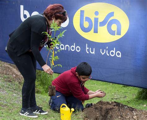 """""""Pulmón Banco BISA"""" cierra el año con la plantación de 1 ..."""