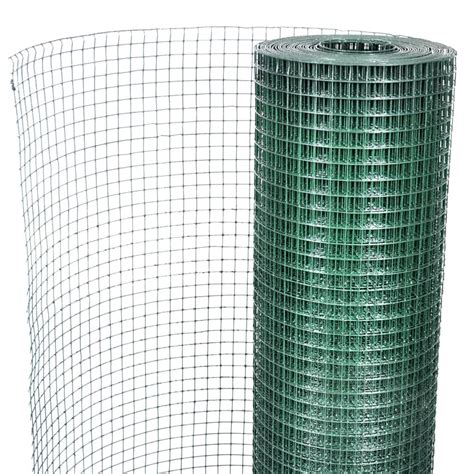 Square Wire Netting 1x25 m PVC coated Galvanized Mesh Size ...